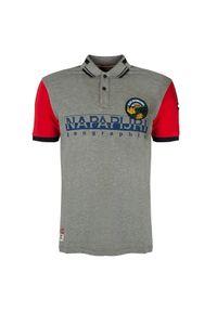 Koszulka polo Napapijri polo, z aplikacjami, casualowa