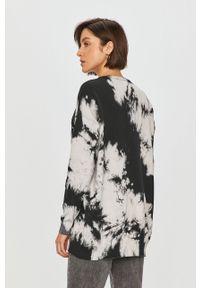 Czarny sweter Answear Lab na co dzień, długi