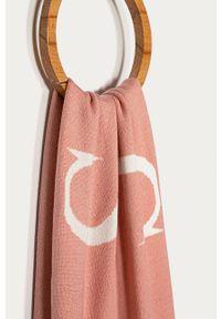 Różowy szalik Trussardi Jeans