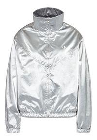 Srebrna kurtka przejściowa Calvin Klein Jeans
