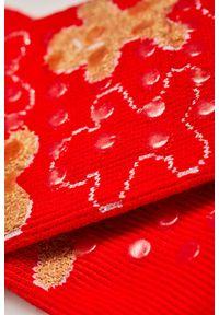 Czerwone skarpetki MOODO