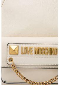 Love Moschino - Plecak. Kolor: beżowy