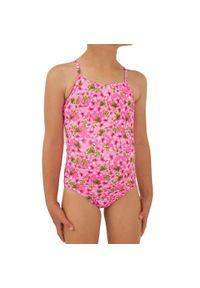 OLAIAN - Kostium Kąpielowy Jednoczęściowy Hanalei 100 Sakura Dla Dzieci. Materiał: poliester, materiał, elastan