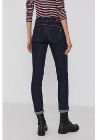 Pepe Jeans - Jeansy New Brooke. Kolor: niebieski