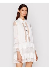 Biała sukienka koszulowa Babylon