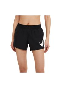 Spodenki damskie do biegania Nike Run Swoosh CZ9315. Materiał: poliester, materiał. Technologia: Dri-Fit (Nike). Sport: bieganie