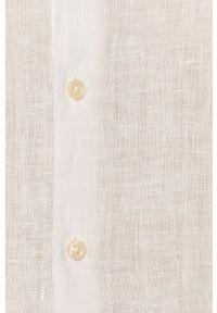 Baldessarini - Koszula. Okazja: na co dzień. Kolor: biały. Długość rękawa: długi rękaw. Długość: długie. Styl: casual