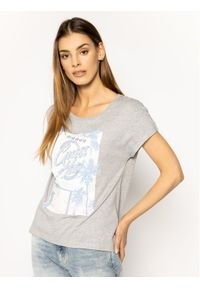 Guess T-Shirt Glamour Tee W0GI50 K46D0 Szary Regular Fit. Kolor: szary. Styl: glamour