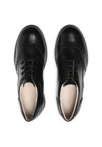 Froddo - Półbuty FRODDO - G4130069 DD Black. Kolor: czarny. Materiał: skóra. Szerokość cholewki: normalna