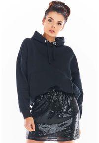 Czarna spódnica Awama