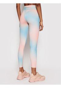 Niebieskie legginsy Calvin Klein Performance