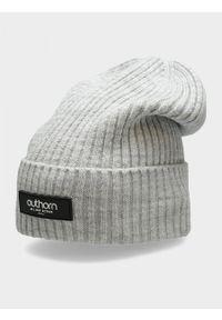 Szara czapka zimowa outhorn