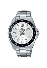 Srebrny zegarek Casio sportowy