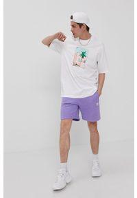 adidas Originals - T-shirt. Kolor: biały. Wzór: nadruk
