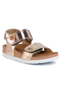 Złote sandały Gioseppo na lato