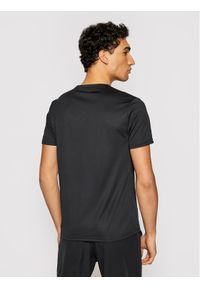 EVERLAST T-Shirt 855030-60 Czarny Regular Fit. Kolor: czarny