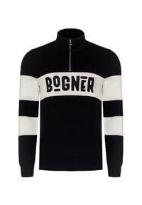 Bogner - Sweter BOGNER FELEX. Typ kołnierza: kołnierzyk stójkowy. Materiał: wełna, dzianina, poliester. Długość: krótkie. Styl: klasyczny, sportowy