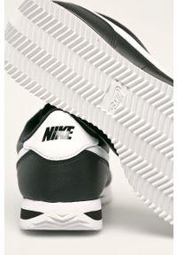 Czarne sneakersy Nike na sznurówki, z cholewką, Nike Cortez