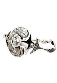 Polcarat Design - Bransoletka srebrna z cyrkoniami L 1622. Materiał: srebrne. Kolor: srebrny. Kamień szlachetny: cyrkonia