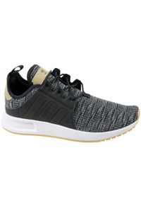 Szare sneakersy Adidas z cholewką, Adidas X_plr