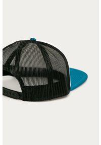 Biała czapka z daszkiem Quiksilver z aplikacjami