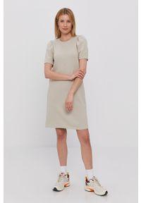 Sukienka only z krótkim rękawem, prosta