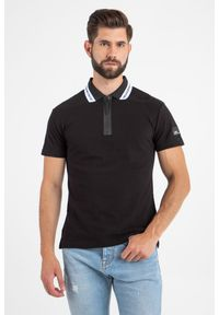 T-shirt Versace Jeans Couture polo, w jednolite wzory