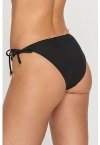 Calvin Klein - Figi kąpielowe. Kolor: czarny. Materiał: dzianina