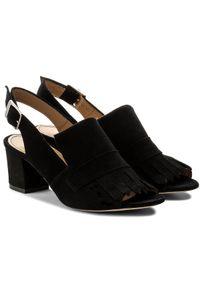 Czarne sandały Kazar klasyczne