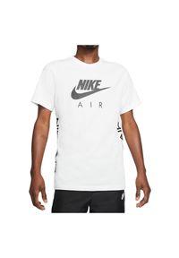 Koszulka męska Nike Air DA0933. Materiał: materiał, bawełna. Długość rękawa: krótki rękaw. Długość: krótkie. Wzór: nadruk