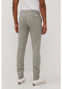 Zielone spodnie Levi's® gładkie, biznesowe