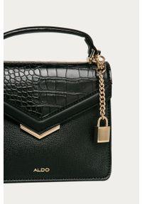 Czarna listonoszka Aldo na ramię, mała
