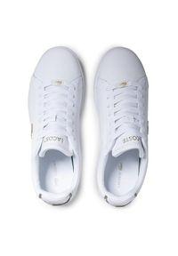 Lacoste Sneakersy Carnaby Evo 0721 3 Sma 7-41SMA000621G Biały. Kolor: biały. Model: Lacoste Carnaby Evo