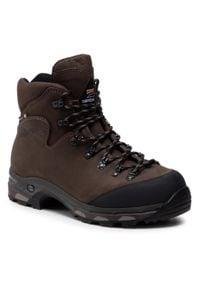 Zamberlan - Trekkingi ZAMBERLAN - 636 New Baffin Gtx Rr Wl GORE-TEX Dark Brown. Kolor: brązowy. Materiał: skóra, nubuk. Technologia: Gore-Tex. Sport: turystyka piesza