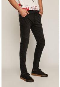 Czarne jeansy medicine rockowe