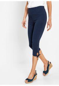Niebieskie spodnie bonprix eleganckie
