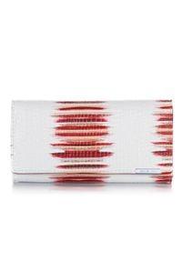 JENNIFER JONES - Skórzany portfel damski RFID Jennifer Jones 5288-2. Materiał: skóra