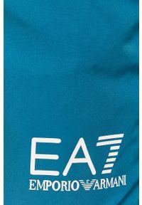 Niebieskie kąpielówki EA7 Emporio Armani