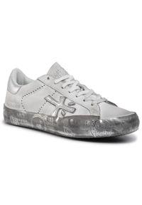 Białe buty sportowe Premiata z cholewką, na co dzień