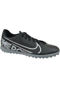 Czarne turfy Nike z cholewką, w kolorowe wzory