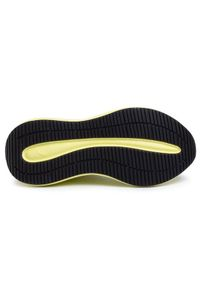 Żółte buty sportowe Puma do biegania