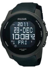 Zegarek Pulsar Męski Cyfrowy PQ2011X1 (10140). Rodzaj zegarka: cyfrowe