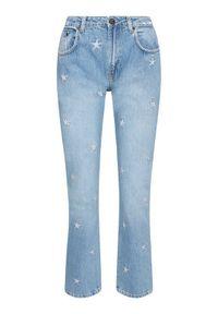 One Teaspoon Jeansy Pac Star Awe Bag 23631 Niebieski Straight Leg. Kolor: niebieski