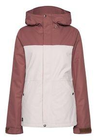 Różowa kurtka sportowa Volcom narciarska