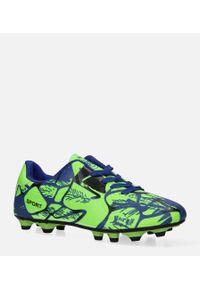 Zielone buty do piłki nożnej Casu