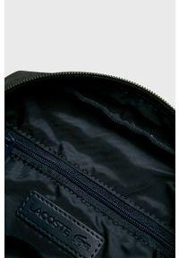 Czarna torba Lacoste casualowa