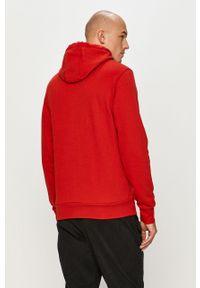 Czerwona bluza nierozpinana s.Oliver casualowa, z kapturem
