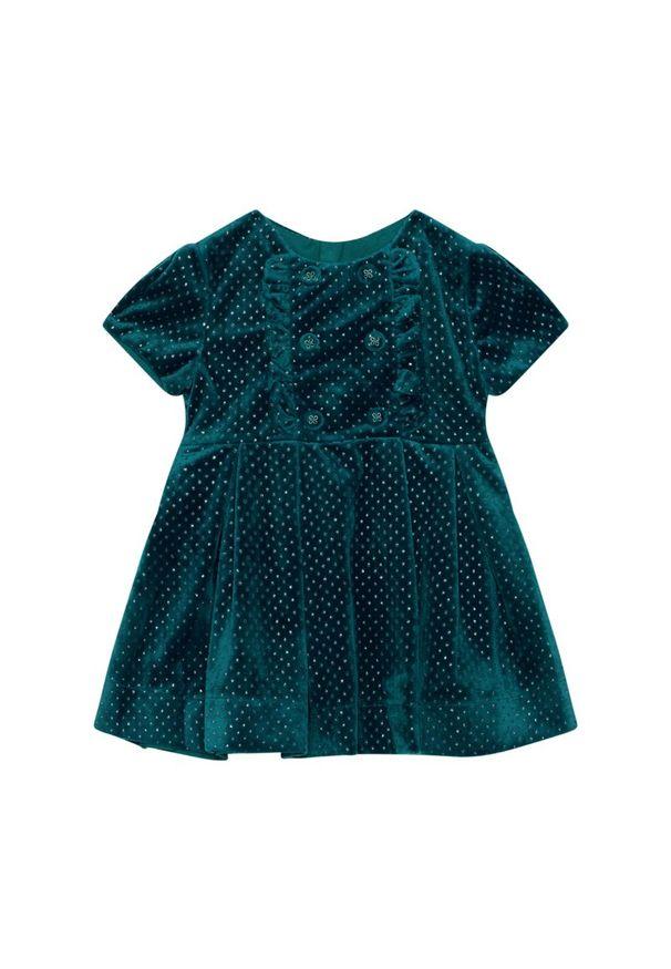 Zielona sukienka Mayoral elegancka