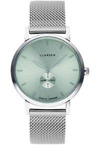 Zielony zegarek LLARSEN wakacyjny