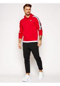 Fila Bluza Tefo 688815 Czerwony Regular Fit. Kolor: czerwony